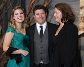 LOS ANGELES - DEC 2:  Alexandra Astin, Sean Astin, Christine Astin at the