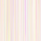 Pastel Line Pattern In Rainbow Colors On White Background