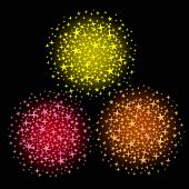 Glowing Stars Salute