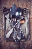 Vintage Ornamented Cutlery