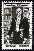 Postage Stamp Tunisia 1960 Habib Bourguiba, Statesman