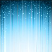 Christmas blue background illustration.