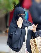 Muslim veiled women