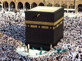 Muslim communities around the vessel returned to worship Mecca Saudi Arabia