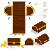 Treasure Chest Packaging Box Design
