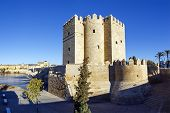 Calahorra Tower On The Roman Bridge In Cordoba