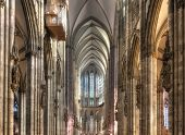Inside The Cologne Dom Nave