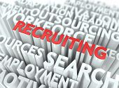 stock photo of recruitment  - Recruiting  - JPG