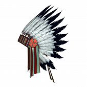 Native American War Bonnet
