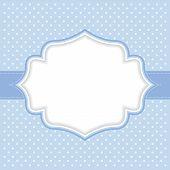 Polka dot frame