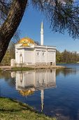 stock photo of sankt-peterburg  - Turkish bath in the Catherine Park Sankt - JPG