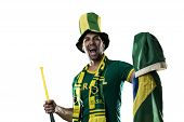 Brazilian Fan Celebrating