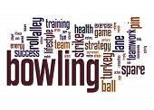 Bowling Word Cloud