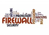 Firewall Word Cloud