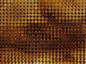Golden Spotty Abstract Background.