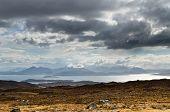 Blue Mountains On Isle Of Skye