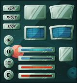 Scifi Space Icons For Ui Game