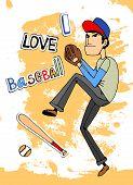 I Love baseball