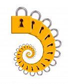 Padlock Spiral
