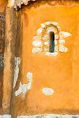 Small Cretan Village Kavros In Crete  Island, Greece. Travel Background