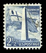 Bunker Hill Us Postage Stamp