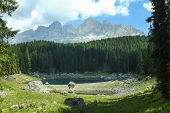 Karersee (lake Of Carezza)