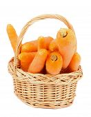 Carrot In Basket