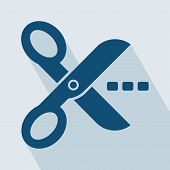 pic of scissors  - Scissors Icon - JPG