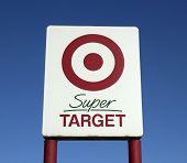 Target Retail Sign