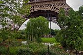Paris - Garden Near The Eiffel Tower