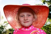 Girl With Pink Hat