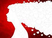 Valentines background. Power of Love