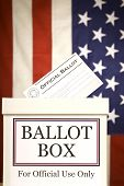 Ballot Box (Vertical)