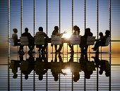 Business Meeting Sun Professional Strategy Concept
