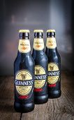 Bottles With Guinness Beer