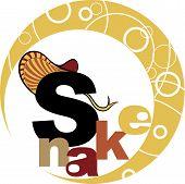 Chinese Horoscope - Year Of The Snake.eps