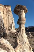 Wahweap Hoodoos with Clear Sky in the Background, Utah, USA