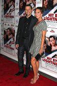LOS ANGELES - OCT 27:  Jon Cryer, Lisa Joyner at the