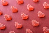 Candy In Shape Of Hearts