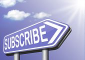 Subscribe here and become a member online free subscription and membership for newsletter or blog join today