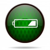 battery green internet icon