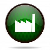 factory green internet icon