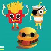 Monster fast food
