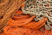 Orange Fishing Net