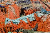 Pile Of Fishing Nets