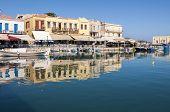 Old Venetian Harbor in Rethymno