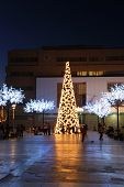 Christmas tree, Fuengirola.