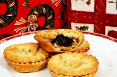 Mince pies and presents.