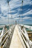Bridge to Lighthouse, Point Bonita Lighthouse.