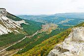 Gorge Ashlama-dere In Crimean Mountains